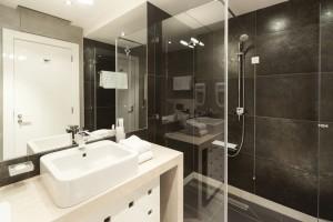 limpieza de cristales ducha
