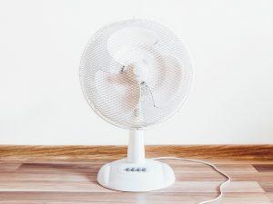 Limpieza de un ventilador